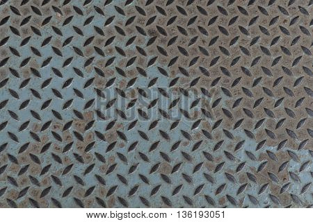 old metal diamond plate background closeup. metal, plate, steel, floor,