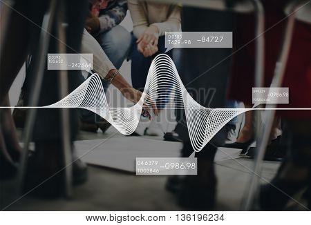 Graph Chart Analytics Business  Statistics Concept