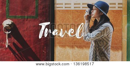 Tourist Travel Explore Life Graphic Concept