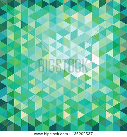 green Environment, ight, source, cheerful, geometric, decorative