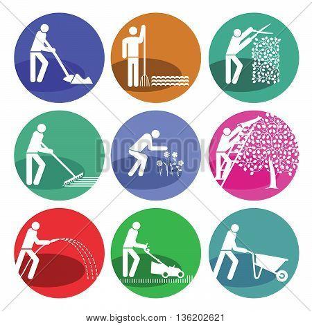 garden maintenance, gardening, horticulture, grass, lawn, spade, planting, flower,