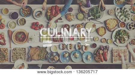 Food Culinary Eating Meal Welcome Concept