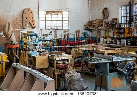Image of the carpenters workshop