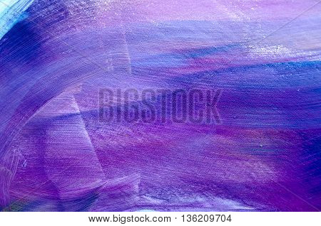 Abstract art background. Hand-painted background. Acrylic painting
