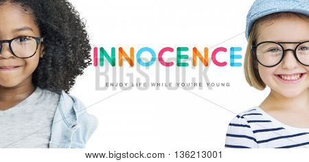 Kids Innocent Children Child Young Concept