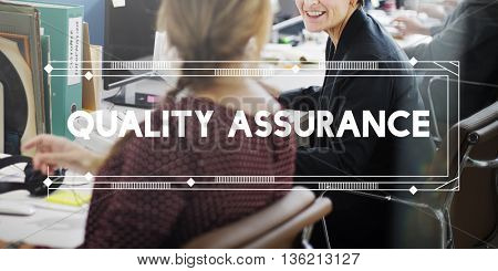 Quality Assurance Check Assessment Concept