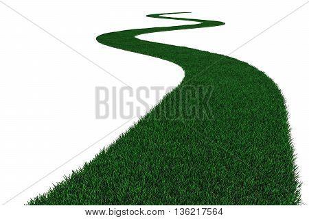 Grass Road.