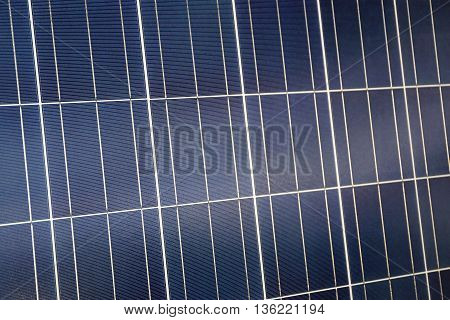 Blue Photovoltaic Solar For Panel Renewable Energy
