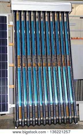 Solar Water Heating Glass Pipes Renewable Energy
