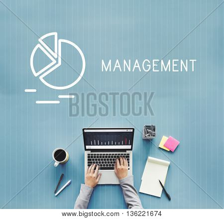 Management Business Strategy Manager Controlling Concept