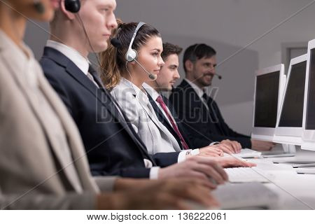Busy Day In A Call Center
