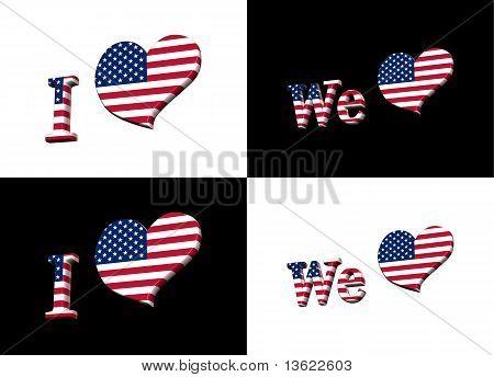 We Love America