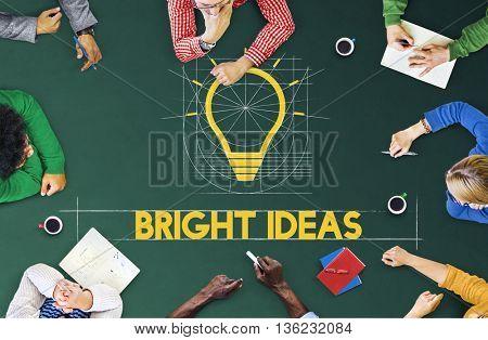 Ideas Think Innovation Creative Imagination Concept