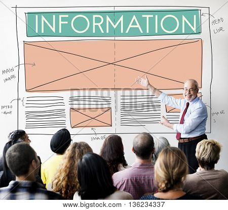 Information Content Data Statistics Details Info Concept