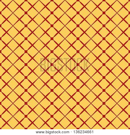 Square geometric seamless pattern. Fashion graphic background design. Modern stylish abstract texture Colorful template for prints textiles wrapping wallpaper website etc. VECTOR illustration