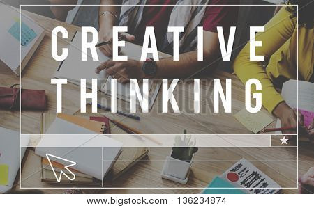 Creative Thinking Ideas Design Inspiration Imagination Concept