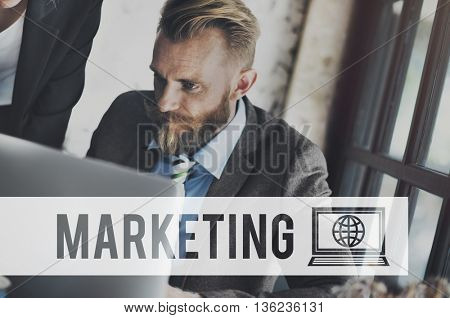 Marketing Advertising Commercial Branding Business Concept