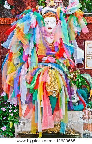 Women Statue In Thai Temple