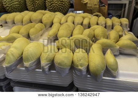 Durian, King of fruit in Thailand (Summer season)