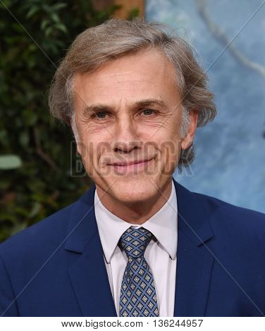 LOS ANGELES - JUN 27:  Christoph Waltz arrives to the