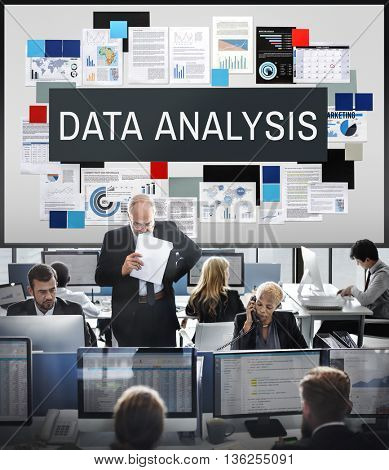 Data Analysis Computer Digital Technology Concept