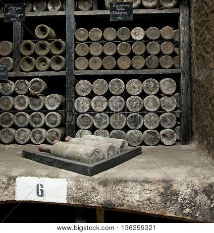 Rare Wines In Massandra Winery, Yalta, Crimea