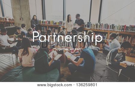 Partnerhsip Agreement Business Collaboration Concept