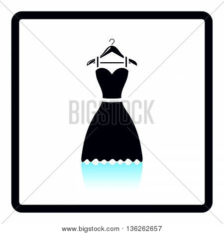 Elegant Dress On Shoulders Icon