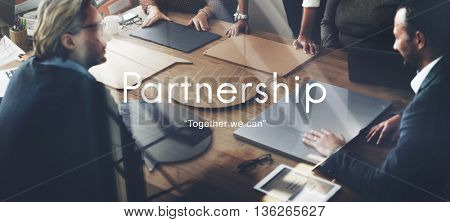 Partnerhship Agreement Business Collaboration Concept