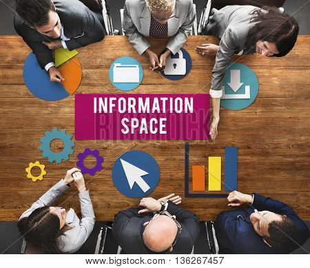 Information Space Networking Connection Concept