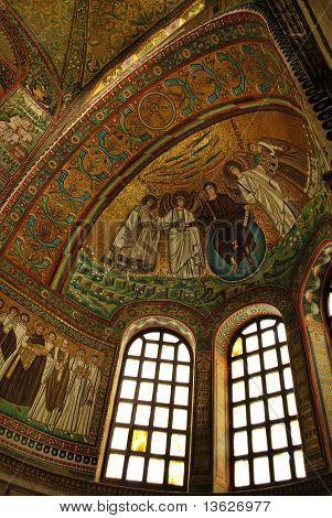 St. Vitale Basilica Church Mosaic