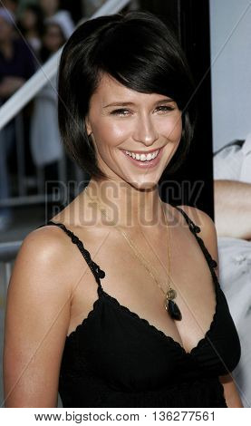 Jennifer Love Hewitt at the World premiere of 'The Break-Up' held at the Mann Village Theatre in Westwood,  USA on May 22, 2006.