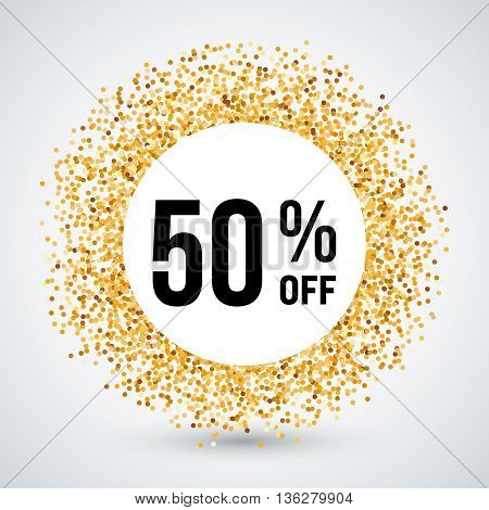 Golden Circle Frame with Discount Fifty Percent