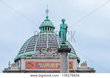 Ny Carlsberg Glyptotek Museum In Copenhagen
