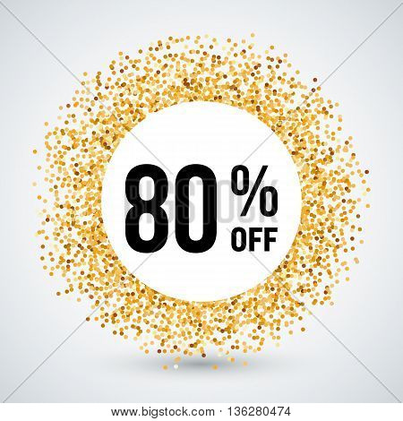Golden Circle Frame with Discount Eighty Percent