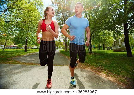 Amorous runners