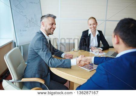 Partnership of leaders
