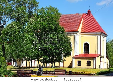 Catholic Church of the of the late eighteenth century made in the Baroque style