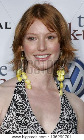 Alicia Witt at the World premiere of 'The Break-Up' held at the Mann Village Theatre in Westwood,  USA on May 22, 2006.