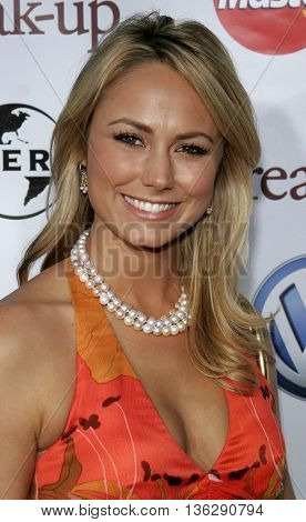 Stacy Keibler at the World premiere of 'The Break-Up' held at the Mann Village Theatre in Westwood,  USA on May 22, 2006.