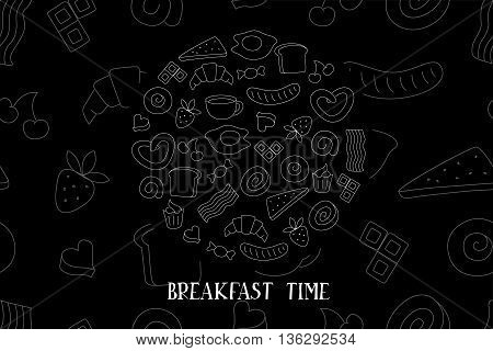 Braekfast Time Vector