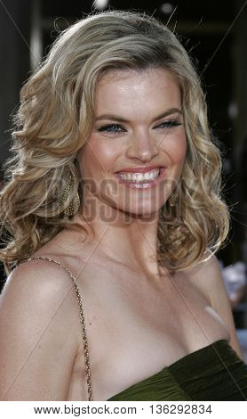 Missi Pyle at the Los Angeles premiere of 'Just My Luck' held at the Mann National Theater in Westwood, USA on May 9, 2006.