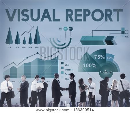 Business Profit Results Analytics Statistics Concept