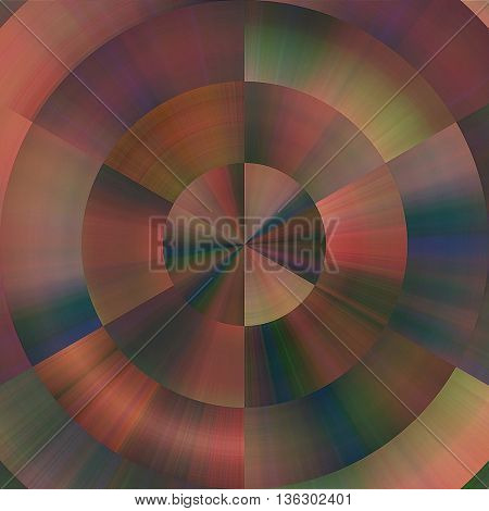 art abstract graphic spherical blurred colored background; geometric pattern