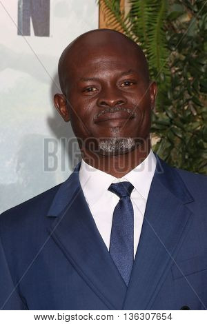 LOS ANGELES - JUN 27:  Djimon Hounsou at The Legend Of Tarzan Premiere at the Dolby Theater on June 27, 2016 in Los Angeles, CA