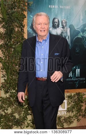 LOS ANGELES - JUN 27:  Jon Voight at The Legend Of Tarzan Premiere at the Dolby Theater on June 27, 2016 in Los Angeles, CA