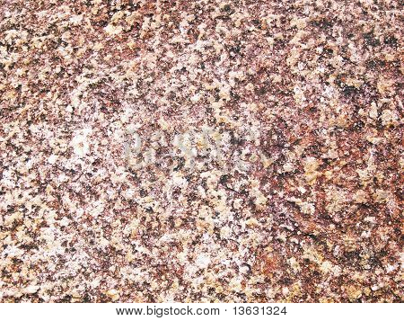 warm brown gravel background