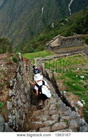 Ancient Inca Steps