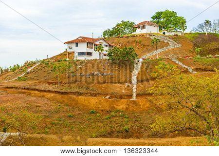 Rural Landscape Near Pedasi In Panama.