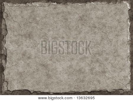 Cracked Gray Slate